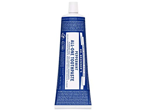 Dr. Bronner´S Toothpaste Peppermint 140Gr - 1 unidad