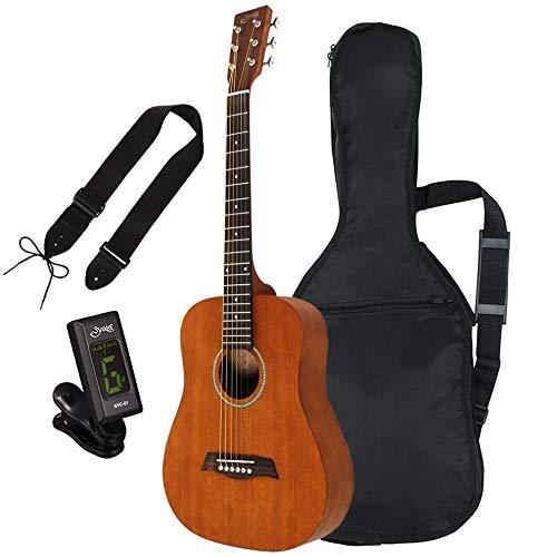 S.Yairi ヤイリ YM-02/MH マホガニー ミニアコースティックギター ソフトケース付属《チューナー・ストラップセット》