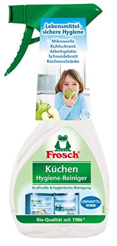 Frosch Küchen Hygiene-Reiniger, 4er Pack (4 x 0.3 l)