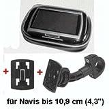 XiRRiX GPS Bikerset 4 Motorradtasche Navi Biker Set Universal Fahrrad+Motorrad Halterung inkl....