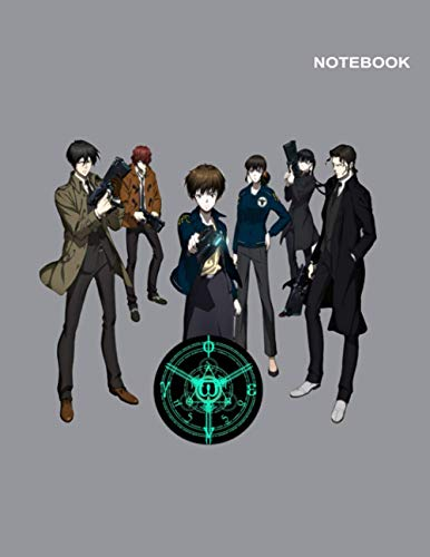 Psycho-Pass Movie Notebook Cover: Letter Size (8.5 x 11 inches), Lined Pages, 110 pages [55 sheets].