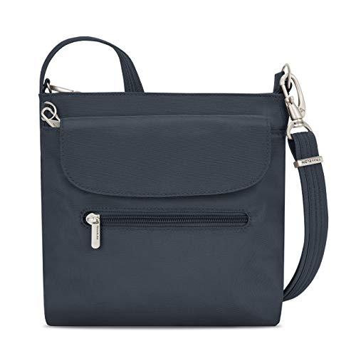 Travelon Anti-Theft Classic Mini Shoulder Bag, Midnight, One Size