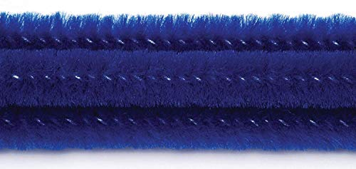 Best Price! Darice Chenille Stems (100pc), Royal Blue – Perfect for Craft Projects – Classic Pip...