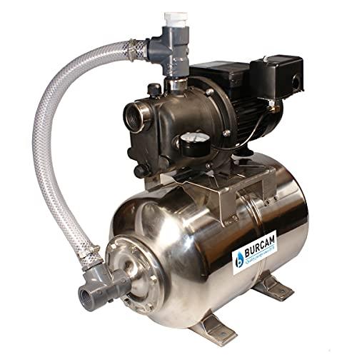 BURCAM 506227PSS 3/4 HP Noryl Shallow Well Jet Pump System, Black
