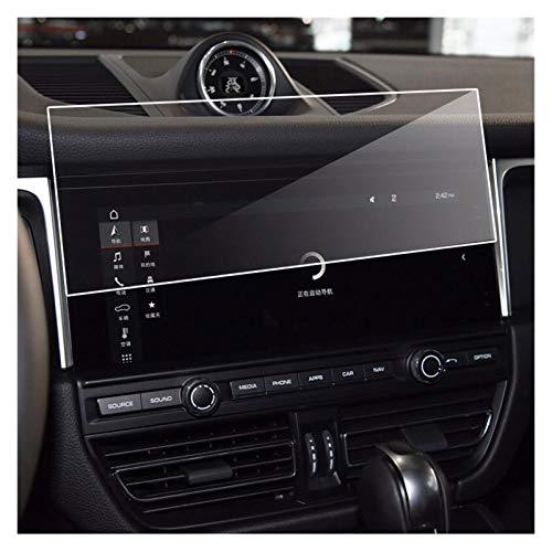 XIAOZHIWEN Navegación for automóviles Templado Protector de Vidrio GPS Navigation Shield Film for Porsche Macan 95B 2019-2020
