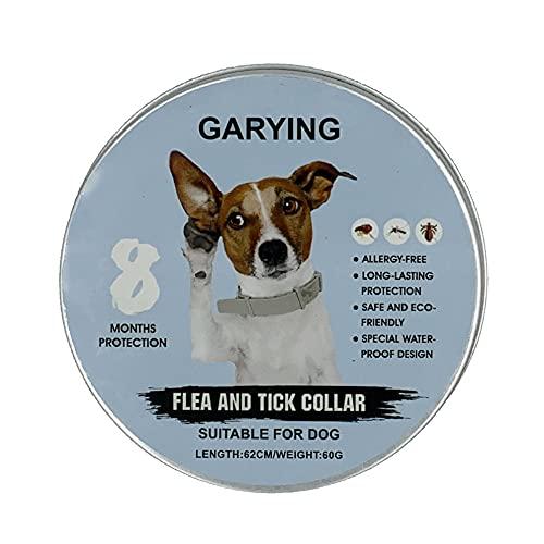 Collare antizecche e antipulci per cani e gatti colore arancione con essenze naturali Durata 8 mesi. Collare antizecche e antipulci ideale per la sicurezza dell animale
