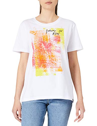 Desigual TS_Amsterdam Camiseta, Blanco, L para Mujer