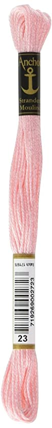 Anchor Six Strand Embroidery Floss 8.75 Yards-Carnation Ultra Light 12 per box