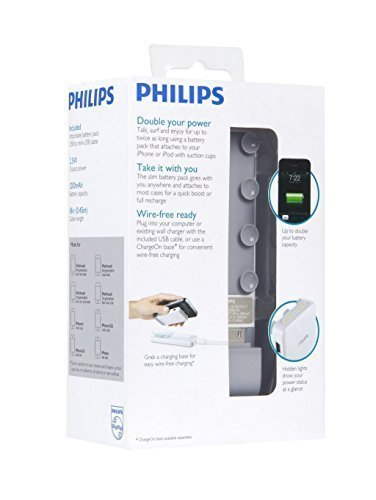 Philips externe extra accu powerbank voor iPhone 3 iPhone 4 en alle iPods