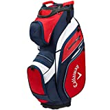 CALLAWAY 16 ORG 14 Cart Bag 2020, Adultes Unisexe, Rouge/Navy/Blanc, Taille Unique