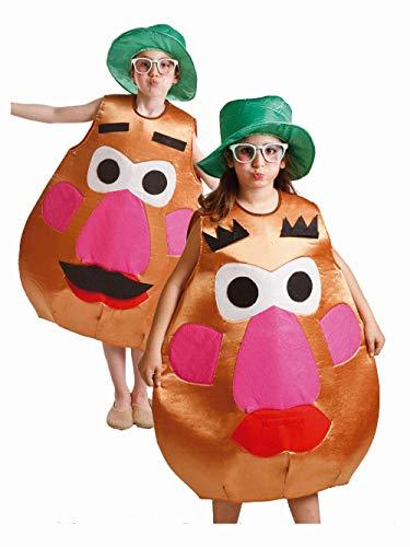 Disfraz de Sr. Cara Patata para niños de 8 a 10 años