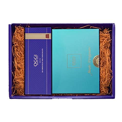 OGGI オッジ チョコレート ショコラ・メープルセット (ショコラプレーン1本、メープルプランタニエ15枚)