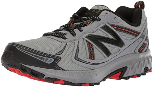New Balance Men's 410 V5 Cushioning Trail Running Shoe, Steel, 10 XW US