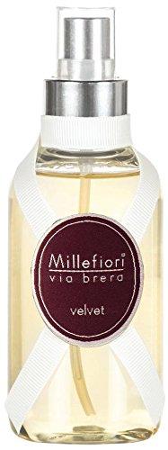 Millefiori Via Brera Spray Velvet, Rosa, 5x5x14 cm