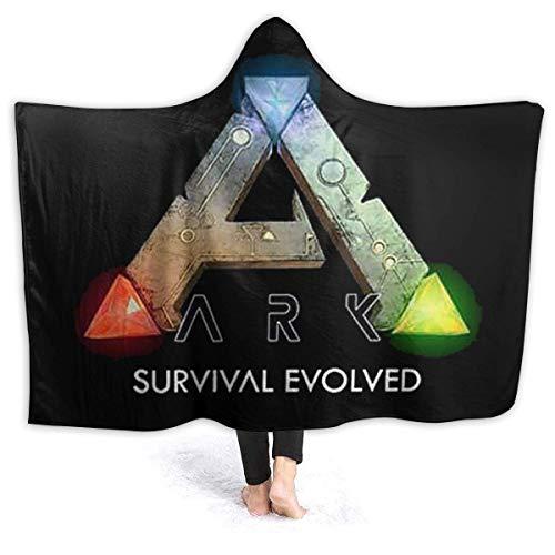 ARK Survival Evolved - Manta con capucha y chal envuelto en tres tamaños para selección