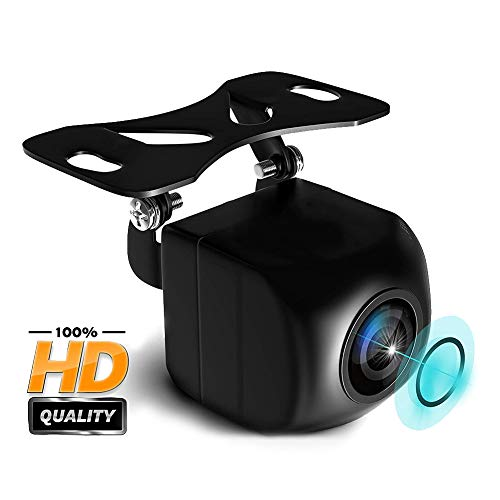 Dlife Backup Camera Night Vision - HD 1280p - Car Rear View Parking Camera - Best 170 Wide Angel Reverse Auto Back Up Car Camera Fits All Vehicles