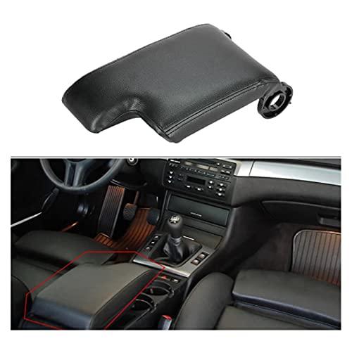 FeiL Store Kit de reemplazo de la cubierta de cuero del apoyabraz de la consola de la consola del centro de la consola para BMW E46 1998-2006 Accesorios para automóviles para automóviles ARMBREST