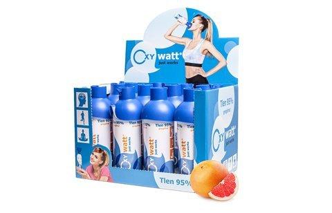 OXYwatt Pomelo 12 pcs X 5L - Oxígeno a 95% en una...