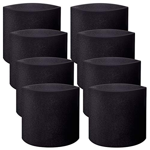 8 Pack Replacement Foam Sleeve 90585 Filter for Shop-Vac Vacmaster & Genie Shop Vacuum Cleaners Replace Part # 90585 & 9058500