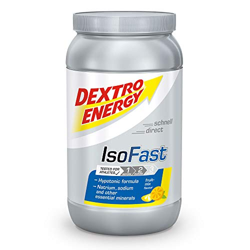 Ausdauer Getränke Pulver Fruit Mix | Iso Fast Dextro Energy | 1120g Hypotonisches Getränke Pulver mit Elektrolyte | Dextro Energy Pulver One Size