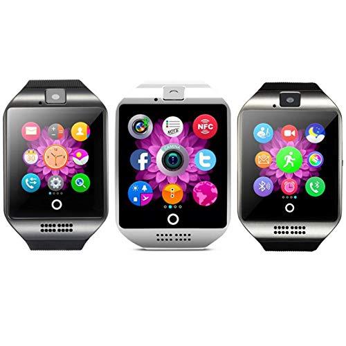 FOSTE | Smart Watch Inalámbrico | Smartwatch 2019 BT inalámbrico a Prueba de Agua Android WFI | Reloj Inteligente WiFi | Reloj Inteligente Q18 | Reloj de Pulsera Inteligente teléfono