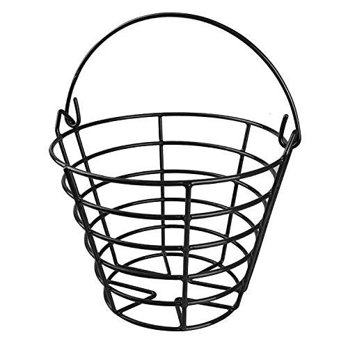 kofull Golf Ball Metall Range Korb Golfball Container mit Griff–enthalten 50Kugeln für