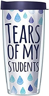 Tears of my Students 16oz Mug Tumbler Cup with Navy Lid