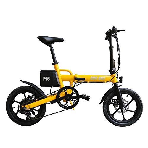SRXH Bicicleta eléctrica Plegable para Adultos, Cambio de Marchas eléctrico, Scooter eléctrico...