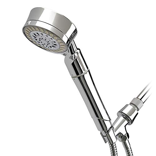Sprite Showers HC5-CM Contemporary 5-Setting Hand Held Filtered Shower Handle, Chrome