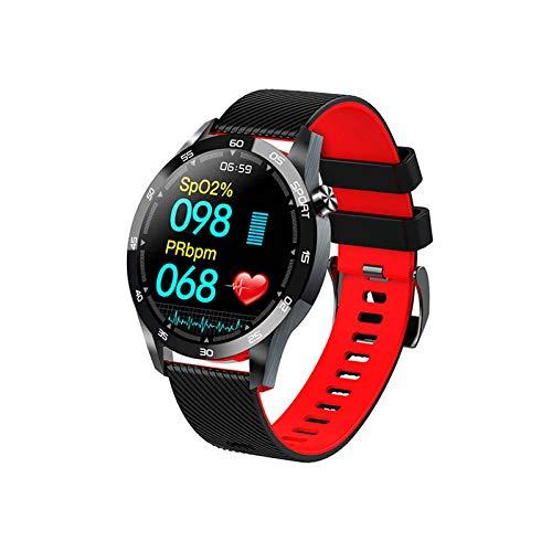 XQTEI Pulsera inteligente, Respiración a temperatura corporal, Función de entrenamiento, Oxímetro, Reloj deportivo, Frecuencia cardíaca, monitorización de la presión arterial, Reloj con podómetro