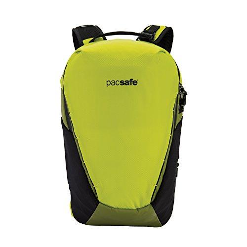 Pacsafe Venturesafe X18 Backpack, Anti-Diebstahl Rucksack, Diebstahlschutz Wanderrucksack, 18 Liter - Phyton Grün hyton Green