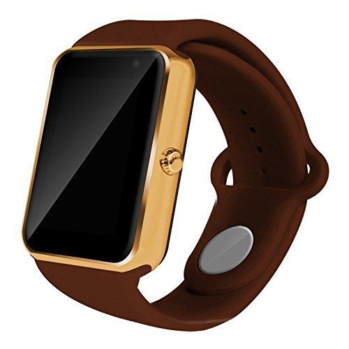 AIYIBEN U7 Bluetooth Touch Screen Bluetooth 3.0 Smart Orologio da Polso Orologio Telefono Watch Compatibile con iPhone Samsung Sony LG HTC e Molto Altro Ancora