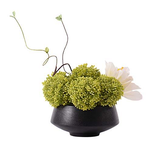 Zunruishop nep planten nep vetplanten planten kunstplanten gepot in zwart vintage keramische bekken voor bruiloft huis tuin decor outdoor indoor boom
