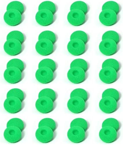 Zotech 40 Pack Replacement Foam Earbud Earpad Ear Bud Pad Replacement Sponge Covers for Apple product image