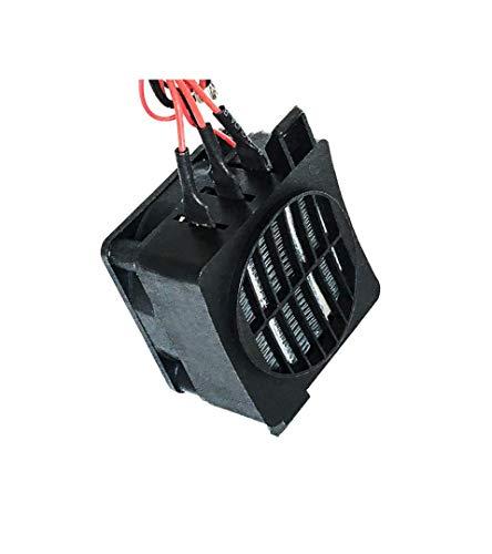 Primst Calentador PTC Calentador de Aire, Temperatura Constante PTC Calentador de Ventilador eléctrico con Control automático para Calentadores (24V 250W)
