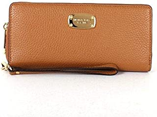 Michael Kors Brown Leather For Women - Zip Around Wallets
