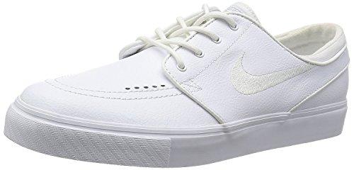 Nike Zoom Stefan Janoski L 110, Zapatillas de Skateboarding para Hombre, Varios colores (White/Wolf Grey), 44 1/2