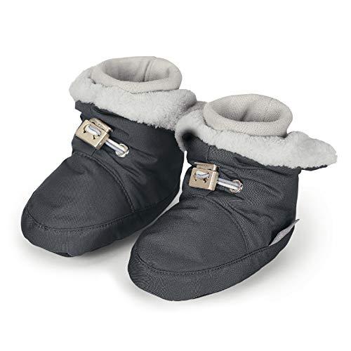 Sterntaler Jungen Baby Stiefel mit Klettverschluss, Grau (Eisengrau 577),19/20 EU