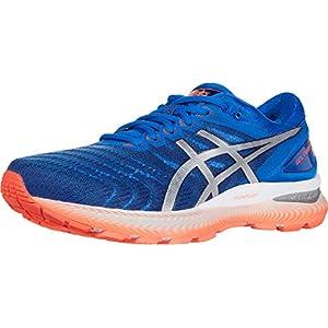 ASICS Men's Gel-Nimbus 22 Running Shoes, 11, Tuna Blue/Pure Silver