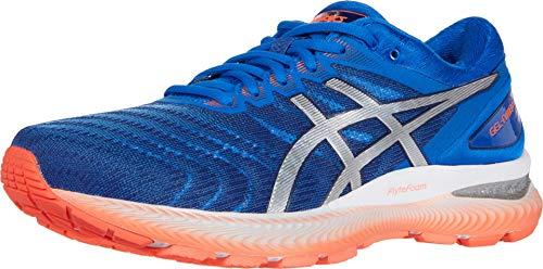ASICS Gel-Nimbus 22 - Zapatillas de correr para hombre, Azul (Azul atún/plata pura.), 43.5 EU