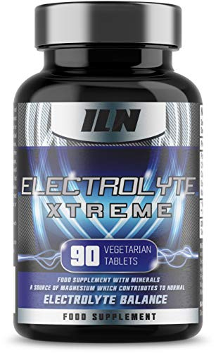 Electrolyte Xtreme - Electrolyte Tablets - 1580mg Electrolytes per Serving - Vegetarian and Vegan Capsules (90 Tablets)