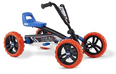 Berg Pedal Car Buzzy Nitro   Pedal Go Kart, Ride On Toys for Boys and Girls, Go Kart, Toddler Ride on Toys, Outdoor Toys, Beats Every Tricicle, Adaptable to Body Lenght, Go Cart for Ages 2-5 Years