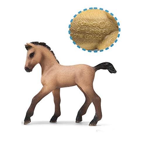 Originele echte paard Fjord Arabische IJslandse Tennessee Hannoveraanse figuur diermodel kinderen speelgoed collectible beeldjes, kleine Andalusische