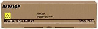 Develop - Cartuccia Toner Giallo per ineo+ 300, 351; Konica Minolta bizhub C300, C352, C352P, 8938714