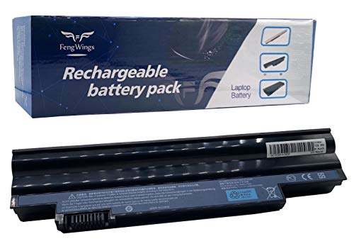FengWings® 11.1V 4400mAh AL10A31 AL10B31 AL10G31 AL13C32 AL13D32Laptop Batteria Compatibile con Acer Aspire One D255, D257 PAV70 D260 D270 522 Packard Bell Easynote 722 eM69