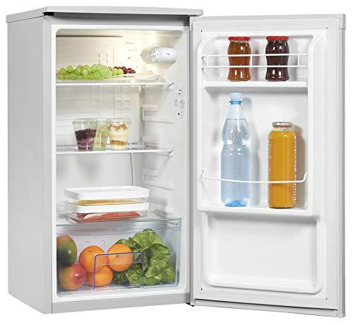 Exquisit Kühlschrank KS85-V-090F grauPV | Vollraum Kühlschrank | 82 L Volumen | Grau