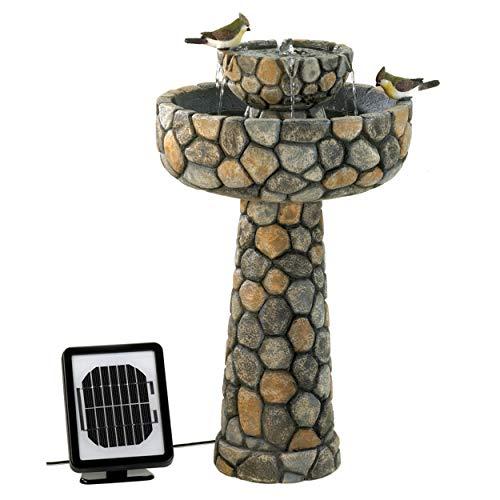 Furniture Creations Wishing Well Solar Water Fountain