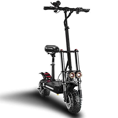 JTYX Scooter eléctrico Scooter de cercanías Plegable con neumático de 11