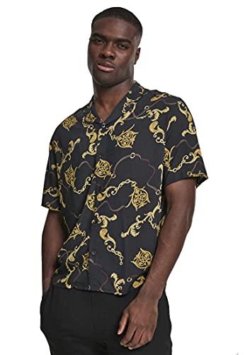 camicia donna hawaii Urban Classics Hawaii-Hemd Viscose Resort Shirt Camicia