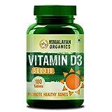 Himalayan Organics Vitamin D3 5000Iu - 180 Tablets